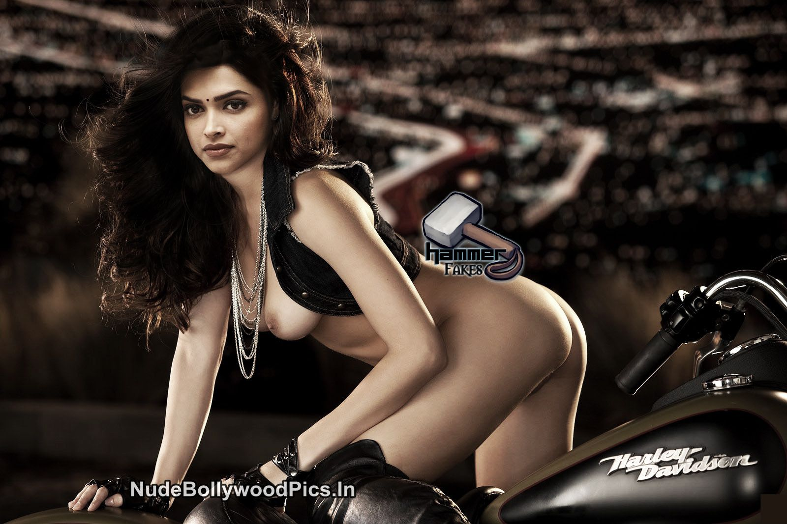 Deepika Nude to Promote Bike
