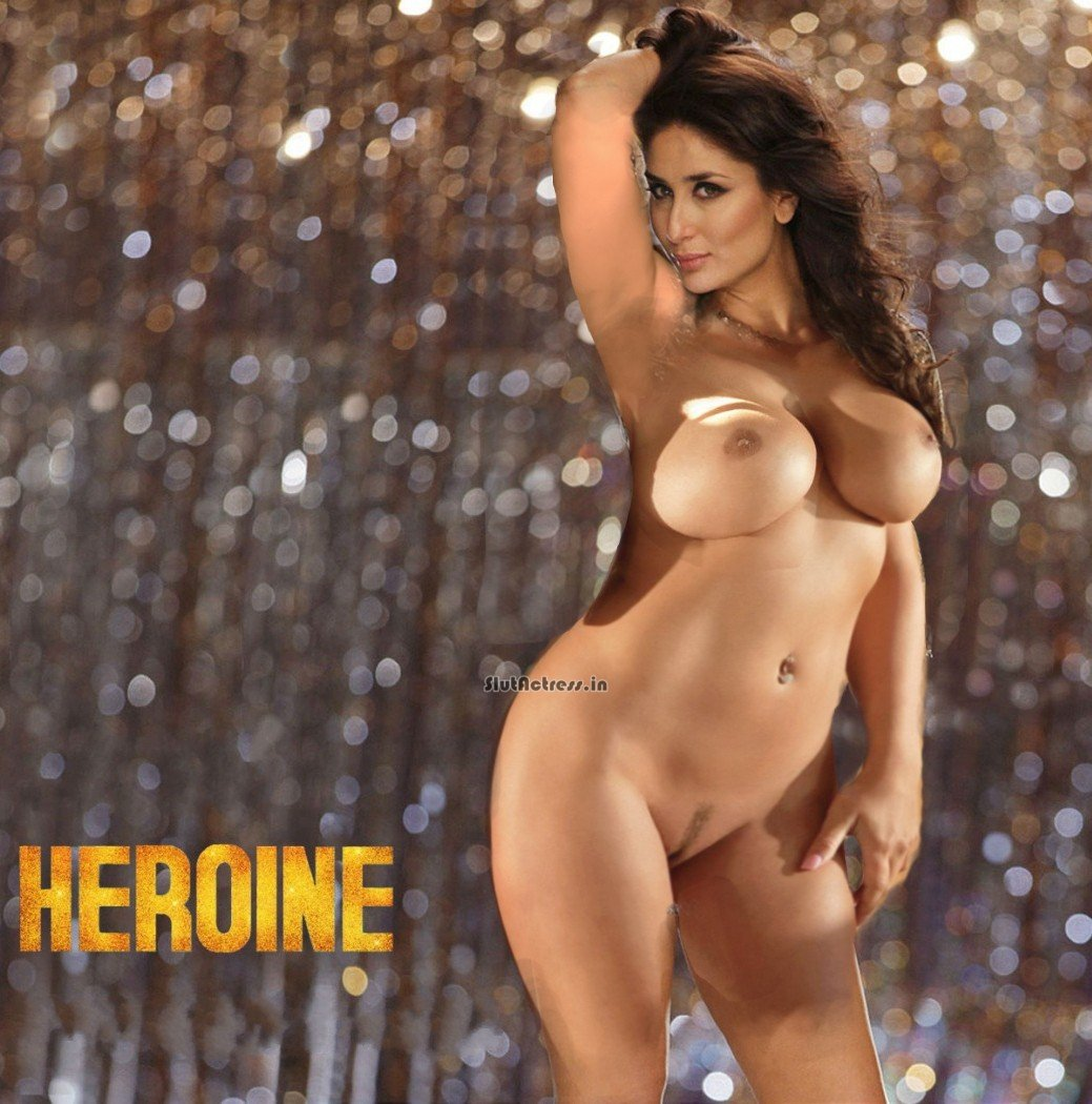 Real Sexy Kareena Kapoor Nude to Promote Heroine Movie